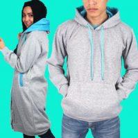 Jaket Couple Bahan Fleece Harga Murah