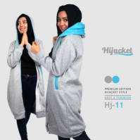 Jaket Muslim Gaul Harga Murah HJ-11