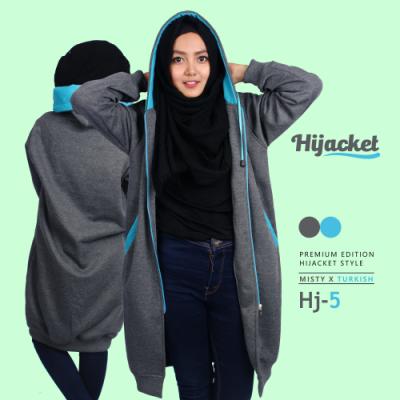 Jaket Muslimah Syar'i Murah Bandung HJ-5