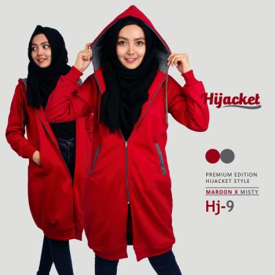 Jaket Wanita Muslim Murah HJ-9