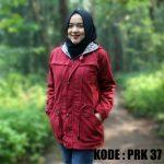 Jaket Parka Kanvas Wanita Bandung PRK37
