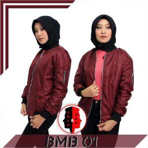 Jaket Bomber Wanita 1