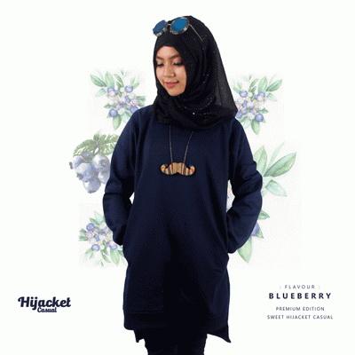 Sweater Hijab Casual, Jaket Hijab Casual Style