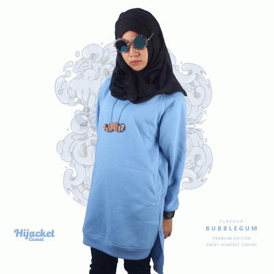 jaket-hijab-casual-turkies, Jaket Hijab Casual Style