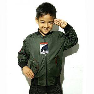 Jaket Bomber Anak Kecil